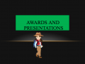 Awards And Presentations